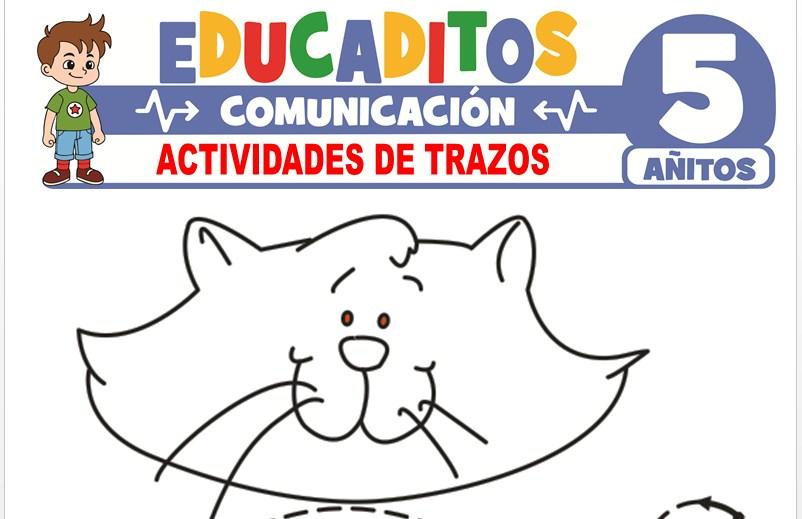 Actividades de Trazos para Niños de 5 años