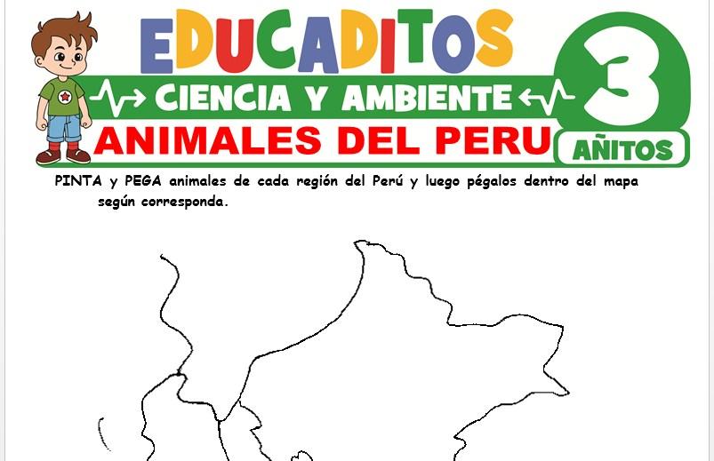 Animales del Perú para Niños de 3 Años