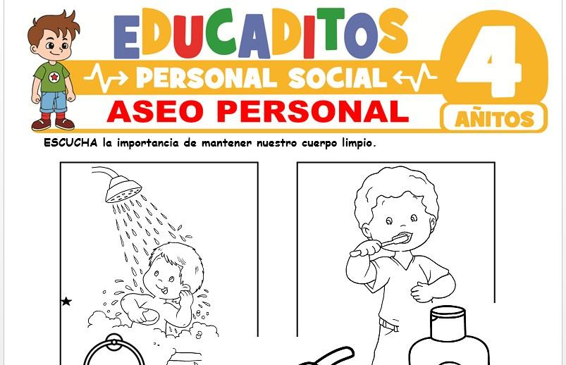 Aseo Personal para Niños de 4 Años