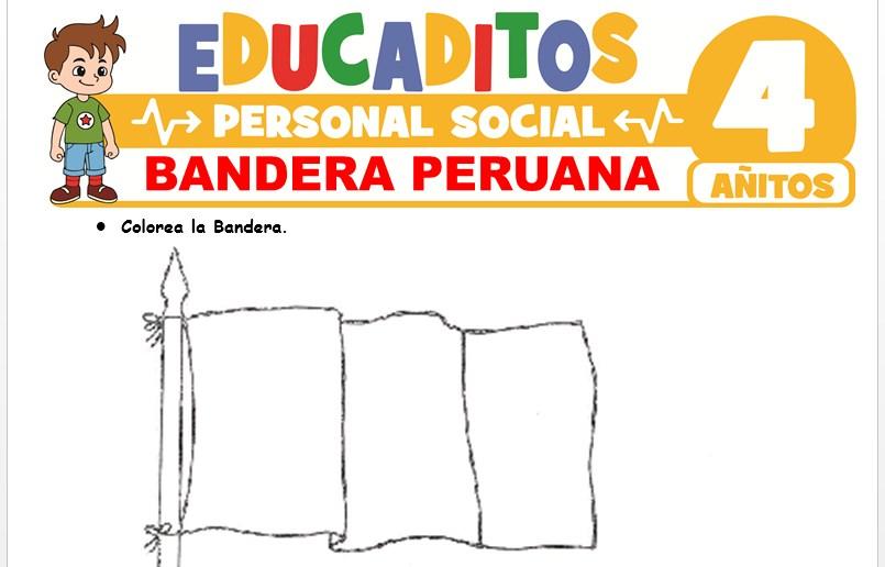 Bandera Peruana para Niños de 4 Años