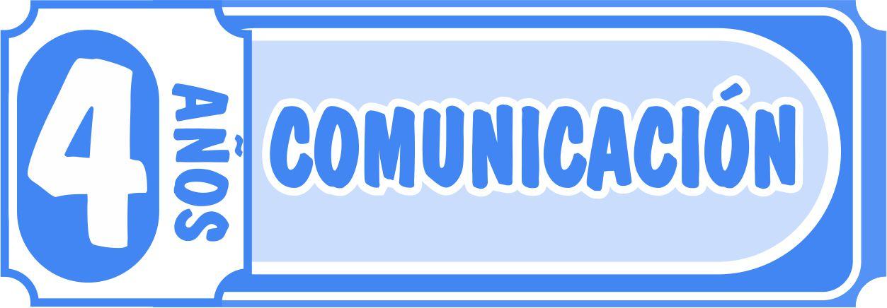 Comunicación 4 años