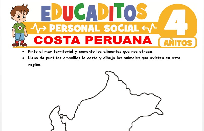 Costa Peruana para Niños de 4 Años