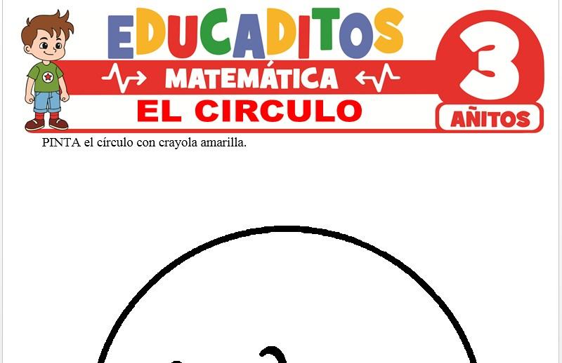 El Círculo para Niños de 3 Años