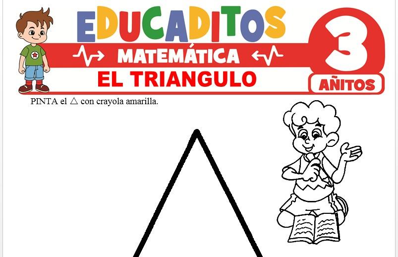 El Triángulo para Niños de 3 Años