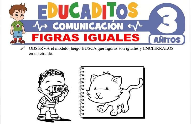 Figuras Iguales para Niños de 3 Años