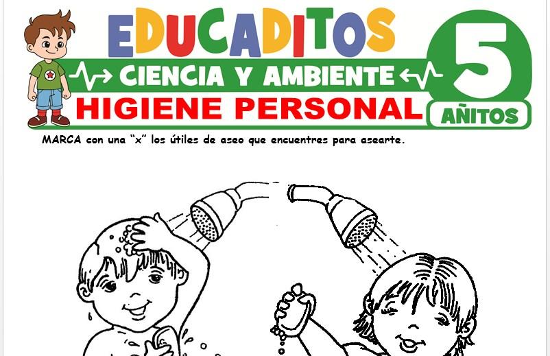 Higiene Personal para Niños de 5 Años