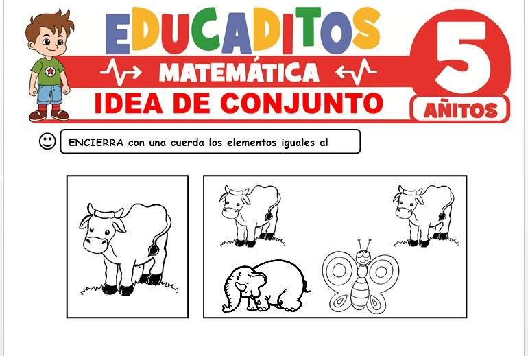 Idea de Conjunto para Niños de 5 Años