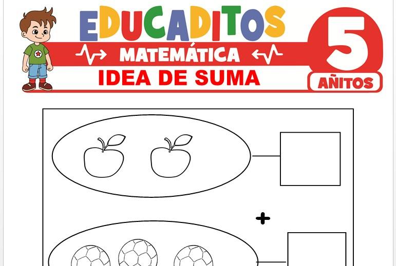 Idea de Suma para Niños de 5 Años