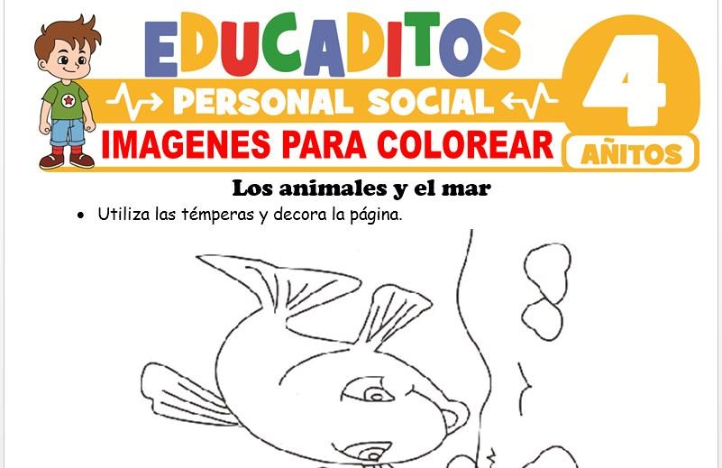 Imágenes para Colorear para Niños de 4 Años