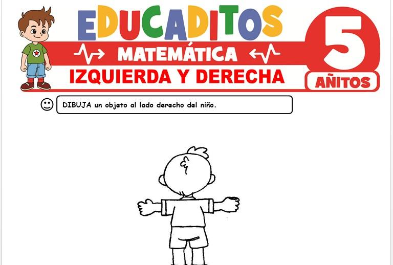Izquierda y Derecha para Niños de 5 Años