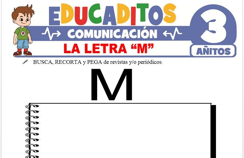 La letra M para Niños de 3 Años