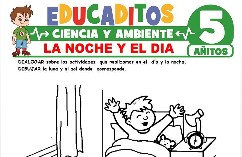 La Noche y el Día para Niños de 5 Años