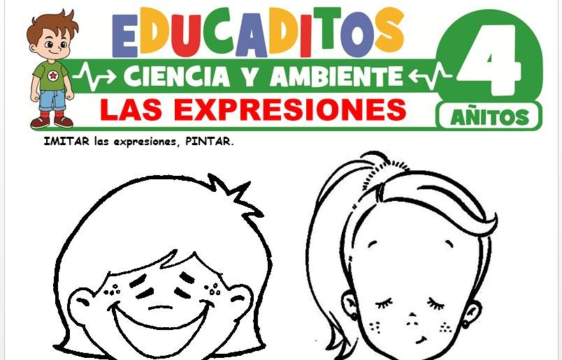 Las Expresiones para Niños de 4 Años