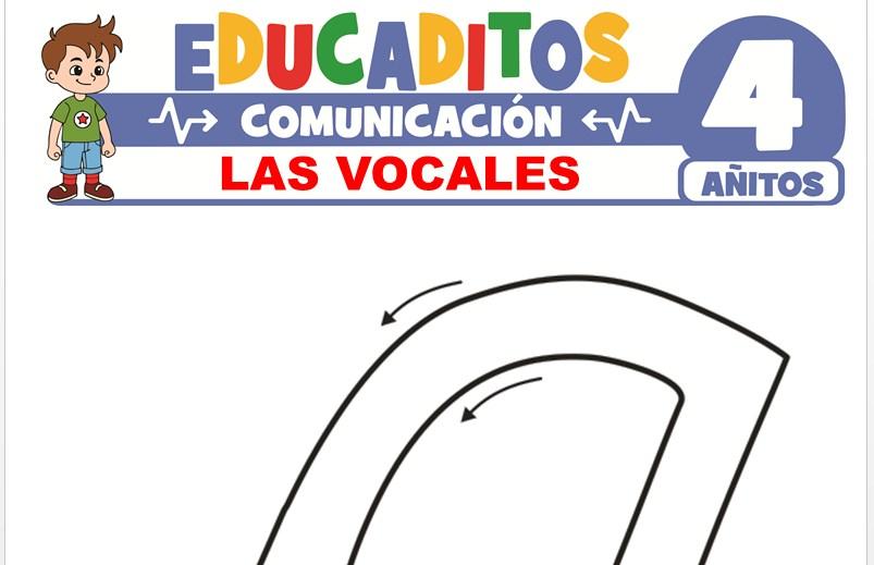 Las Vocales para Niños de 4 Años