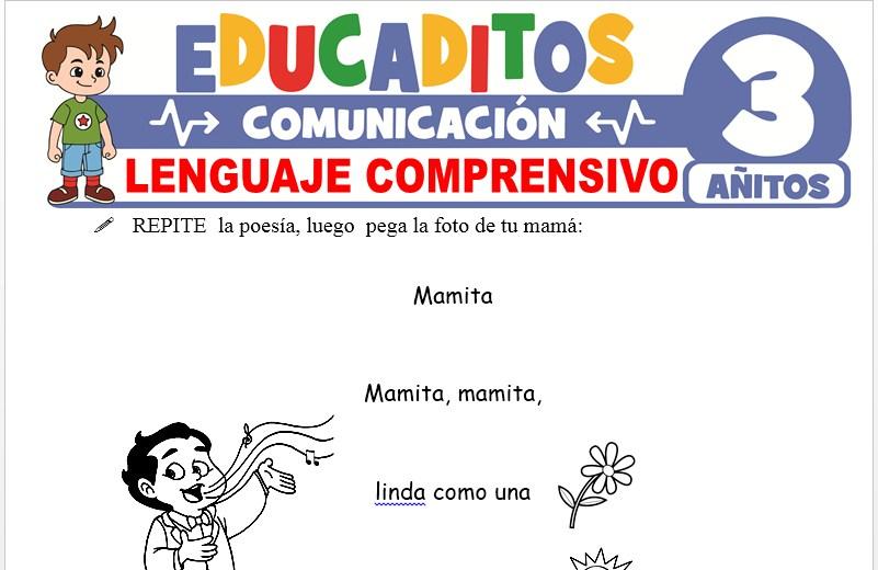 Lenguaje Comprensivo para Niños de 3 Años