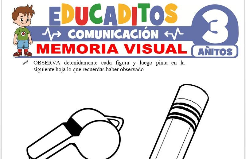 Memoria Visual para Niños de 3 Años