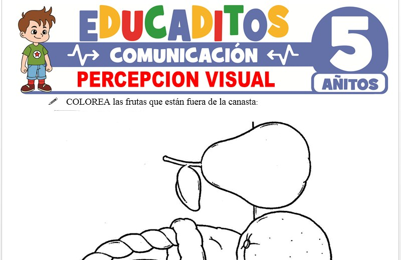 Percepción Visual para Niños de 5 Años