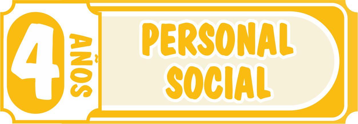Personal Social 4 años