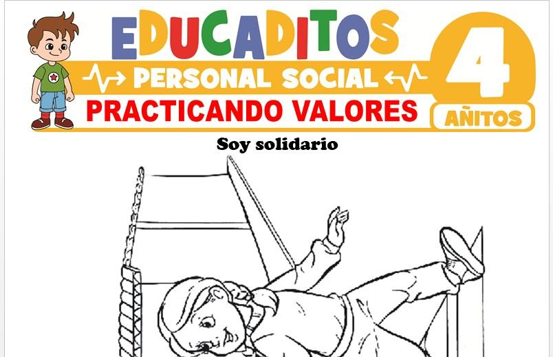 Practicando Valores para Niños de 4 Años