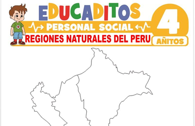 Regiones Naturales del Perú para Niños de 4 Años