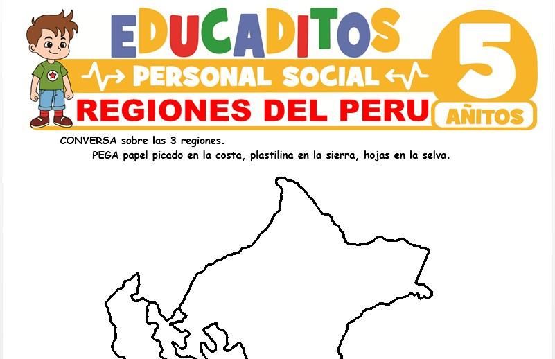 Regiones del Perú para Niños de 5 Años