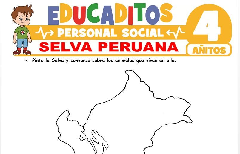 Selva Peruana para Niños de 4 Años