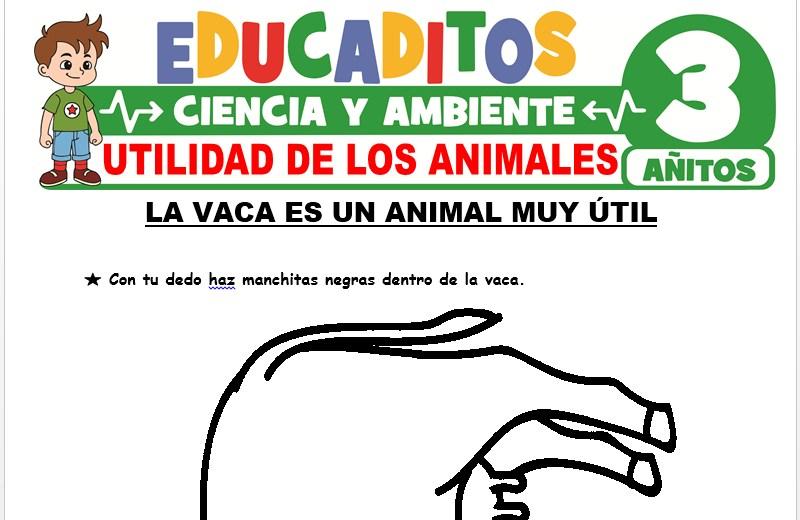 Utilidades de los Animales para Niños de 3 Años